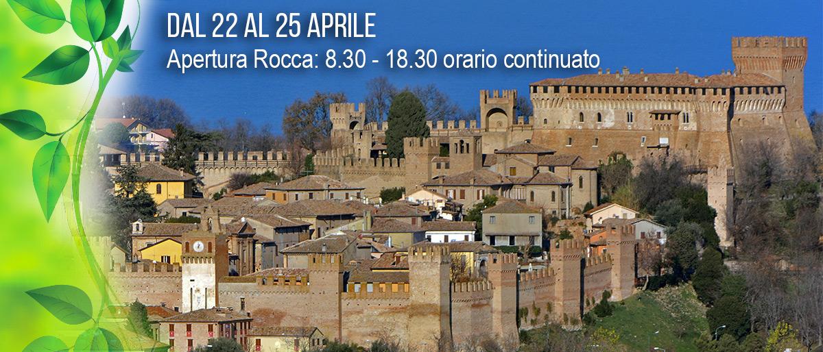 Apertura Rocca per 25 aprile